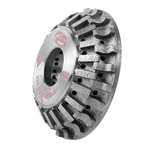 CRL 43PB123335 ADI 'Tilt Wheel' for 90 Built Up Edges 120 mm Diameter - Position 1