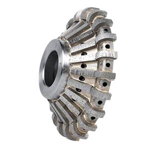 CRL 43PB123332 ADI 'Tilt Wheel' for 90 Built Up Edges 130 mm Diameter - Position 1