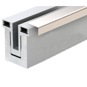 CRL Blumcraft RG50CPS10 Polished Stainless Cladding for RG500 Base Shoe