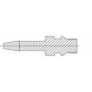 ADI CNC Engraving Tool 15mm Diameter 20 x 25mm Tip