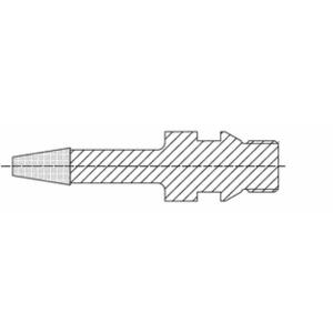 CRL 43PB27221 ADI CNC Engraving Tool 6mm Diameter 11 x 25mm Tip