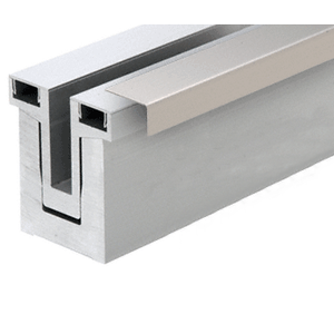 Brushed Stainless Cladding for RG200 Base Shoe