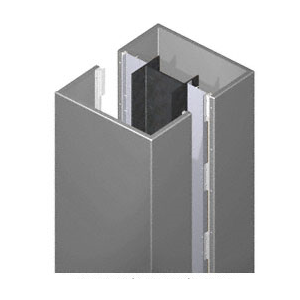 CRL PCS20CC Custom Premier Series Square Column Covers Two Panels Opposing
