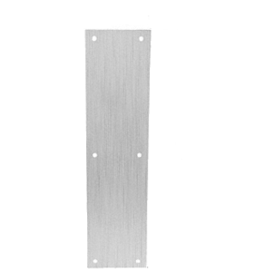 "CRL M60432D Brushed Stainless Push Plates 4"" x 16"""