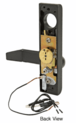 Jackson 8500EL02313 Electric Outside Lever Trim with Flat Style Lever Dark Bronze Finish 24 Volt DC