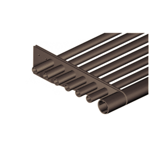 "Bronze Anodized 3"" Round Tube Fascia - 146"""