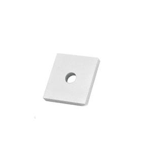 Custom Size Aluminum Drain Block for B6S Base Shoe