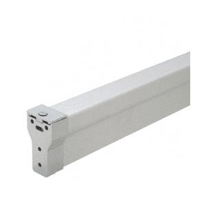 Satin Aluminum 896 Removable Mullion for 2095 Style Rim Panic Exit Device