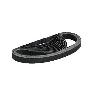 "CRL CRL12X18120X 1/2"" x 18"" 120X Grit Silicon Carbide Abrasive Belt - 10/Bx"