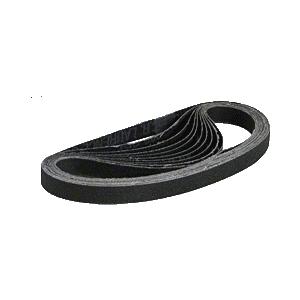 "CRL CRL12X1880X 1/2"" x 18"" 80X Grit Silicon Carbide Abrasive Belt - 10/Bx"