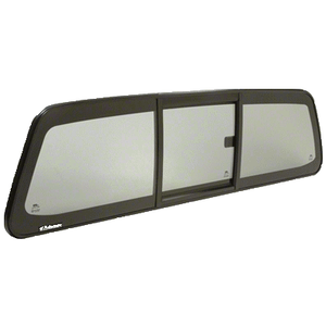 """CRL ECT1585S """"Perfect Fit"""" Three-Panel Tri-Vent Sliders with Solar Glass for 2013+Toyota Hilux"""