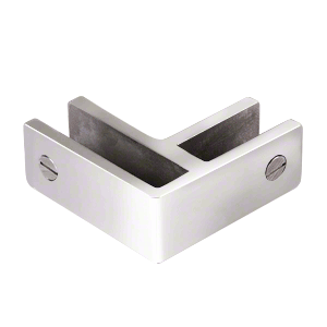 CRL GBC90PS Polished Stainless 90 Degree Glass Bracing Clamp