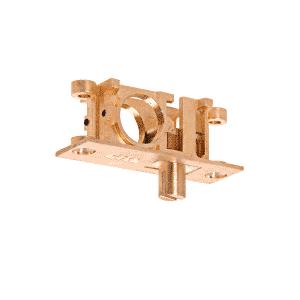 Straddle Lock for Bottom Rolling Sliding Doors
