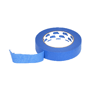"CRL BL991 Blue 1"" Windshield and Trim Securing Tape"