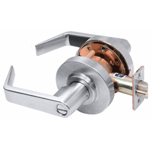 CRL D40PRV Brushed Chrome Privacy Heavy-Duty Grade 1 Lever Lockset
