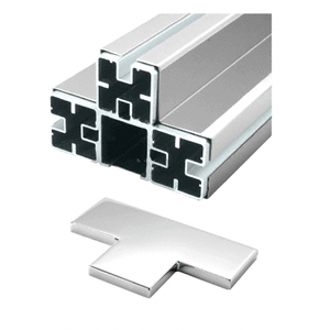 CRL BPT1PSC Polished Stainless 'T' Barrier Post Kit - Custom Height