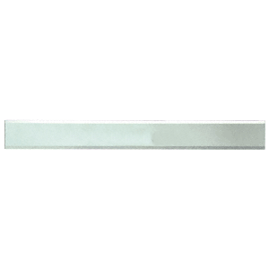 """CRL BM2S2X56 Clear Mirror Glass 2"""" x 56"""" Strips Beveled Only on 2 Long Sides"""