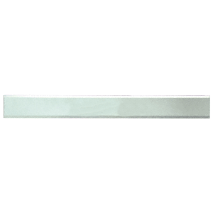 """CRL BM2S3X36 Clear Mirror Glass 3"""" x 36"""" Strips Beveled Only on 2 Long Sides"""