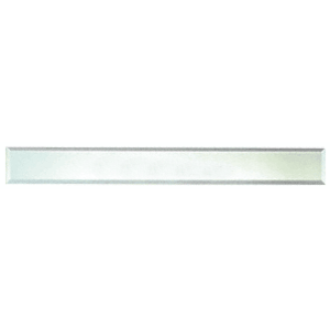 """CRL BM4S4X52 Clear Mirror Glass 4"""" x 52"""" Strips Beveled on All 4 Sides"""