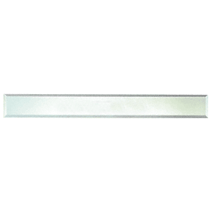 """CRL BM4S2X44 Clear Mirror Glass 2"""" x 44"""" Strips Beveled on All 4 Sides"""