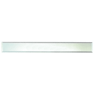 """CRL BM4S2X32 Clear Mirror Glass 2"""" x 32"""" Strips Beveled on All 4 Sides - pack of 4"""