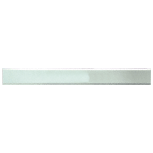 """CRL BM2S2X38 Clear Mirror Glass 2"""" x 38"""" Strips Beveled Only on 2 Long Sides"""