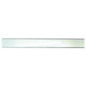 """CRL BM4S2X56 Clear Mirror Glass 2"""" x 56"""" Strips Beveled on All 4 Sides"""