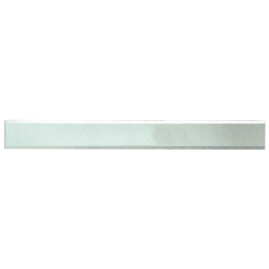 """CRL BM2S3X42 Clear Mirror Glass 3"""" x 42"""" Strips Beveled Only on 2 Long Sides"""