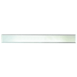 """CRL BM4S2X20 Clear Mirror Glass 2"""" x 20"""" Strips Beveled on All 4 Sides"""