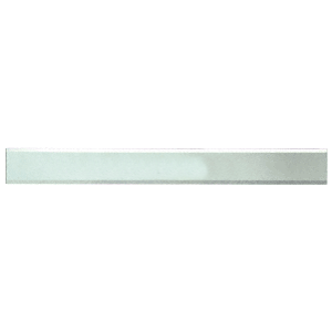 """CRL BM2S2X32 Clear Mirror Glass 2"""" x 32"""" Strips Beveled Only on 2 Long Sides"""