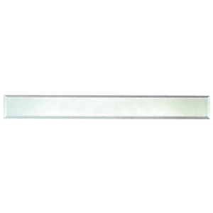 """CRL BM4S2X38 Clear Mirror Glass 2"""" x 38"""" Strips Beveled on All 4 Sides"""