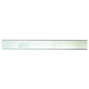 """CRL BM4S4X40 Clear Mirror Glass 4"""" x 40"""" Strips Beveled on All 4 Sides"""