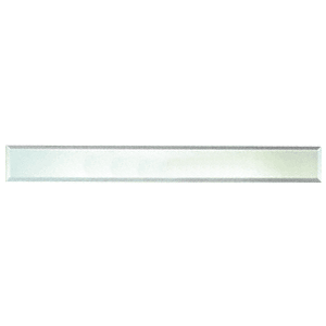"""CRL BM4S3X18 Clear Mirror Glass 3"""" x 18"""" Strips Beveled on All 4 Sides"""