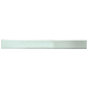 """CRL BM2S4X52 Clear Mirror Glass 4"""" x 52"""" Strips Beveled Only on 2 Long Sides"""