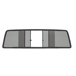 CRL TSW200S Duo-Vent Four Panel Slider with Solar Glass for 1967-1972 Ford