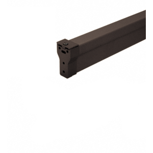 "Dark Bronze 896 Removable Mullion for 2095 Style Rim Panic Exit Device - 120"""