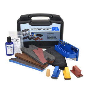 CRL SBG1 Professional Brushed Stainless Steel Restoration Kit