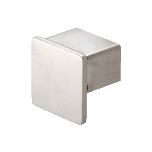 "CRL SRF15ECBS Brushed Stainless Steel End Cap for 1-1/2"" SRF15 Series Square Roll Form Cap Railing"