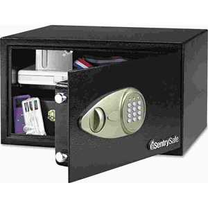 SentrySafe SENX105 ELECTRONIC LOCK SECURITY SAFE, 1.0 FT3, 16-15/16W X 14-9/16D X 8-7/8H, BLACK