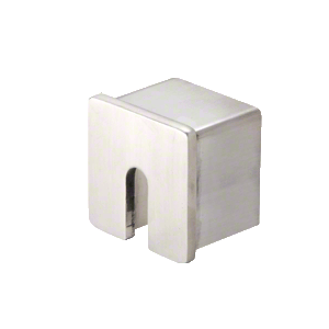 "CRL SRF20SECBS Brushed Stainless Steel Stabilizing End Cap for 2"" SRF20 Series Roll Form Cap Railing"