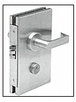CRL 2CHBS Brushed Stainless Rim Cylinder Housings for Small Format Interchangeable Cores (SFIC)