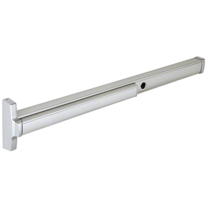 """48"""" 2085 Concealed Vertical Rod Grade 1 Exit Device with Top Latch and Bottom Bolt, Cylinder Dogging, LHRB, Satin Aluminum"""