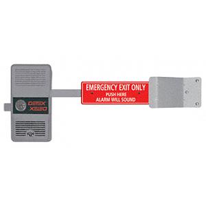 DETEX ECL230D Battery Alarmed Exit Control Lock with Short Bar