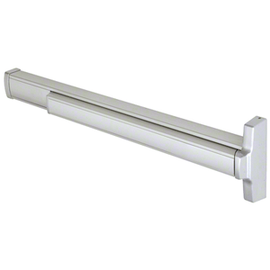 "Model 2085R Retrofit Less Rod and Case Concealed Vertical Rod Panic Exit Device Right Hand Reverse Bevel Fits 32"" to 36"" Wide Door Satin Aluminum Finish"