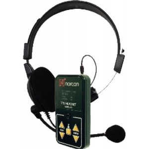 Norcon TTUWHSD Two-Way Communication Headset Black