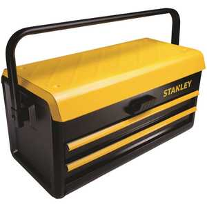 Stanley STST19502 19 in. Metal Toolbox with 2-Drawers