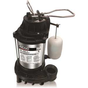 RIDGID 500RSDS 1/2 HP Stainless Steel Dual Suction Sump Pump