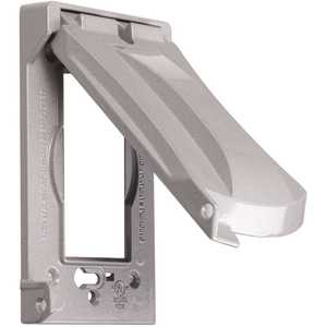 BELL MX1050SB 1-Gang Horizontal or Vertical Mount Weatherproof Flip Lid Device Cover