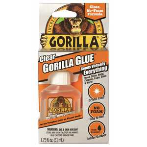 Gorilla 4500104 1.75 oz. Clear Gorilla Glue - pack of 16
