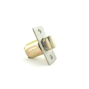 "Falcon A57425000605 2-3/8"" Square 1-1/8"" Face Spring Latch for B101 Bright Brass Finish"
